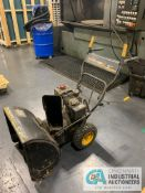 "5HP/22"" YARD MACHINES SNOW BLOWER"