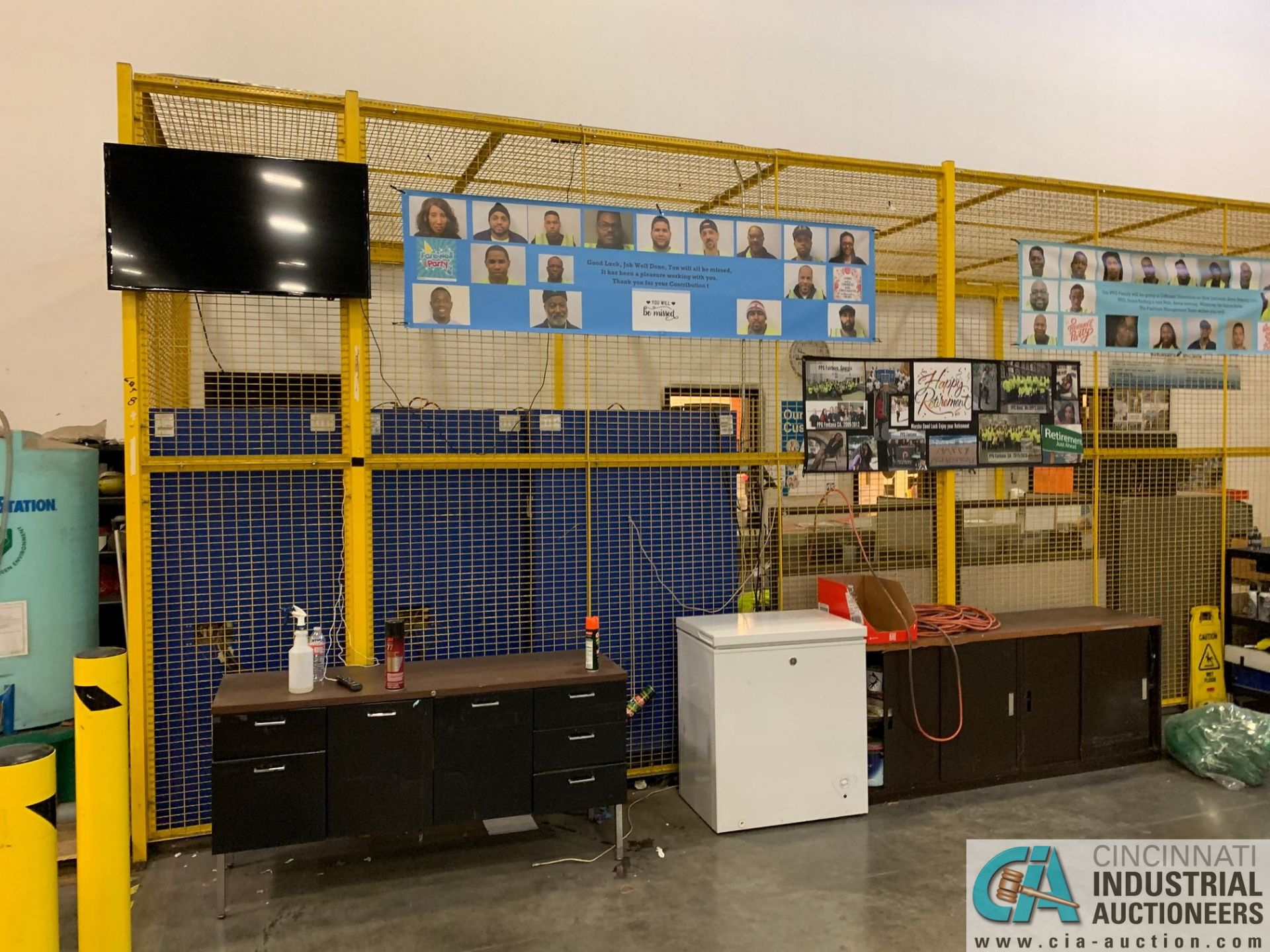 SAFETY CAGE - FRONT DRIVERS (5400 OAKLEY INDUSTRIAL BLVD., FAIRBURN, GA 30213) - Image 2 of 6