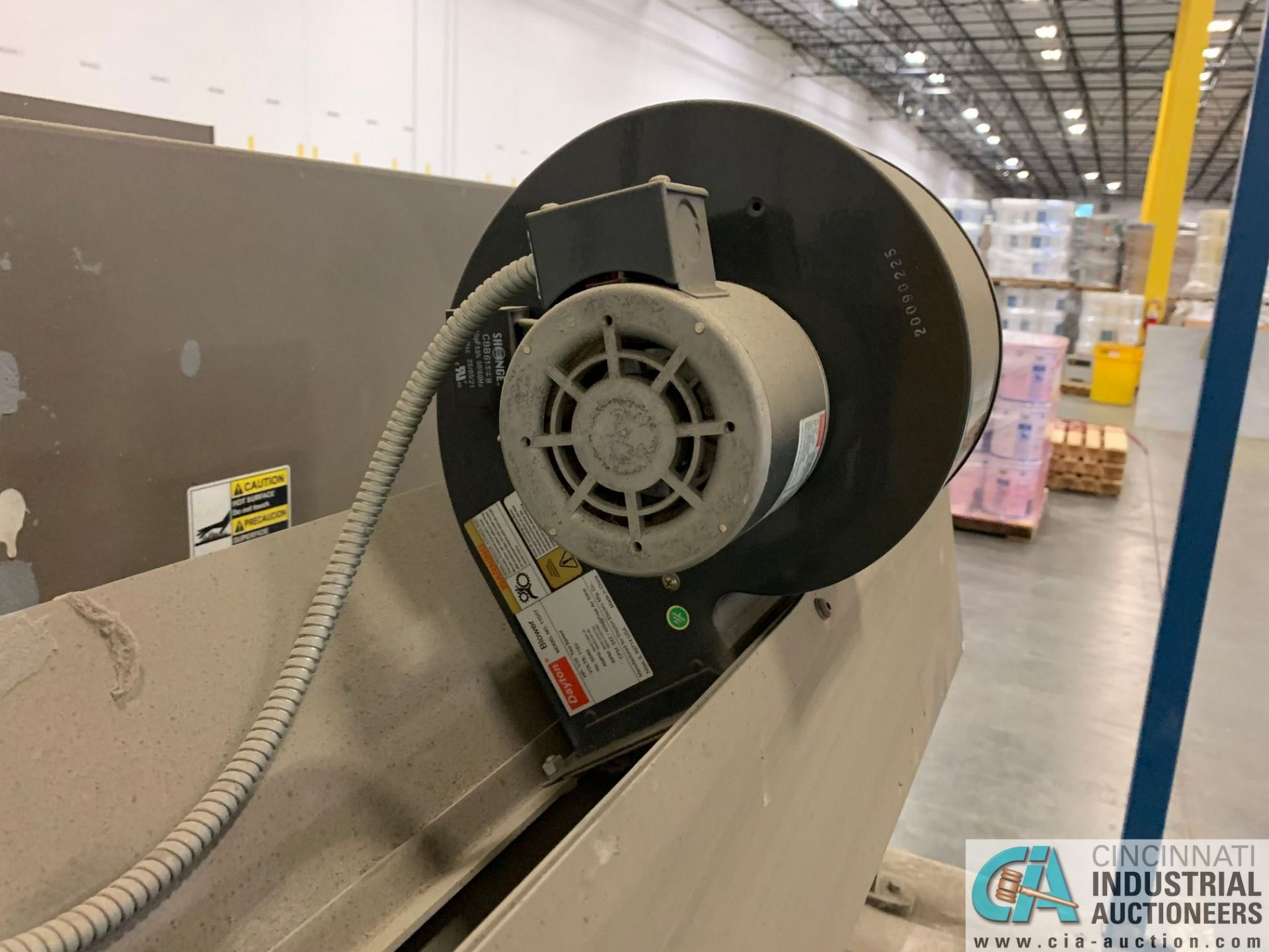"ARPAC MODEL 25TW-28 SHRINK WRAPPER / HEAT TUNNEL; S/N 11489, HEIGHT RANGE: 4"" - 12"", LENGTH (FLOW - Image 9 of 19"