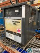 24-VOLT QUANTUM MODEL 12Q450B2A BATTERY CHARGER; S/N 98454197 (5400 OAKLEY INDUSTRIAL BLVD.,