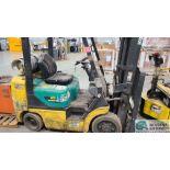 KOMATSU MODEL FG255ST-14 LP GAS SIT DOWN LIFT TRUCK; S/N 590591A, 13,558 HOURS (2570 ORCHARD GATEWAY