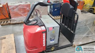 RAYMOND MODEL 8510 ELECTRIC PALLET TRUCK; S/N 851-15-11742, W/ BATTERY, HOURS N/A (NEW 2015) (2570