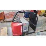 RAYMOND MODEL 8510 ELECTRIC PALLET TRUCK; S/N 851-15-11742, W/ BATTERY, HOURS N/A (NEW 2015) (2570