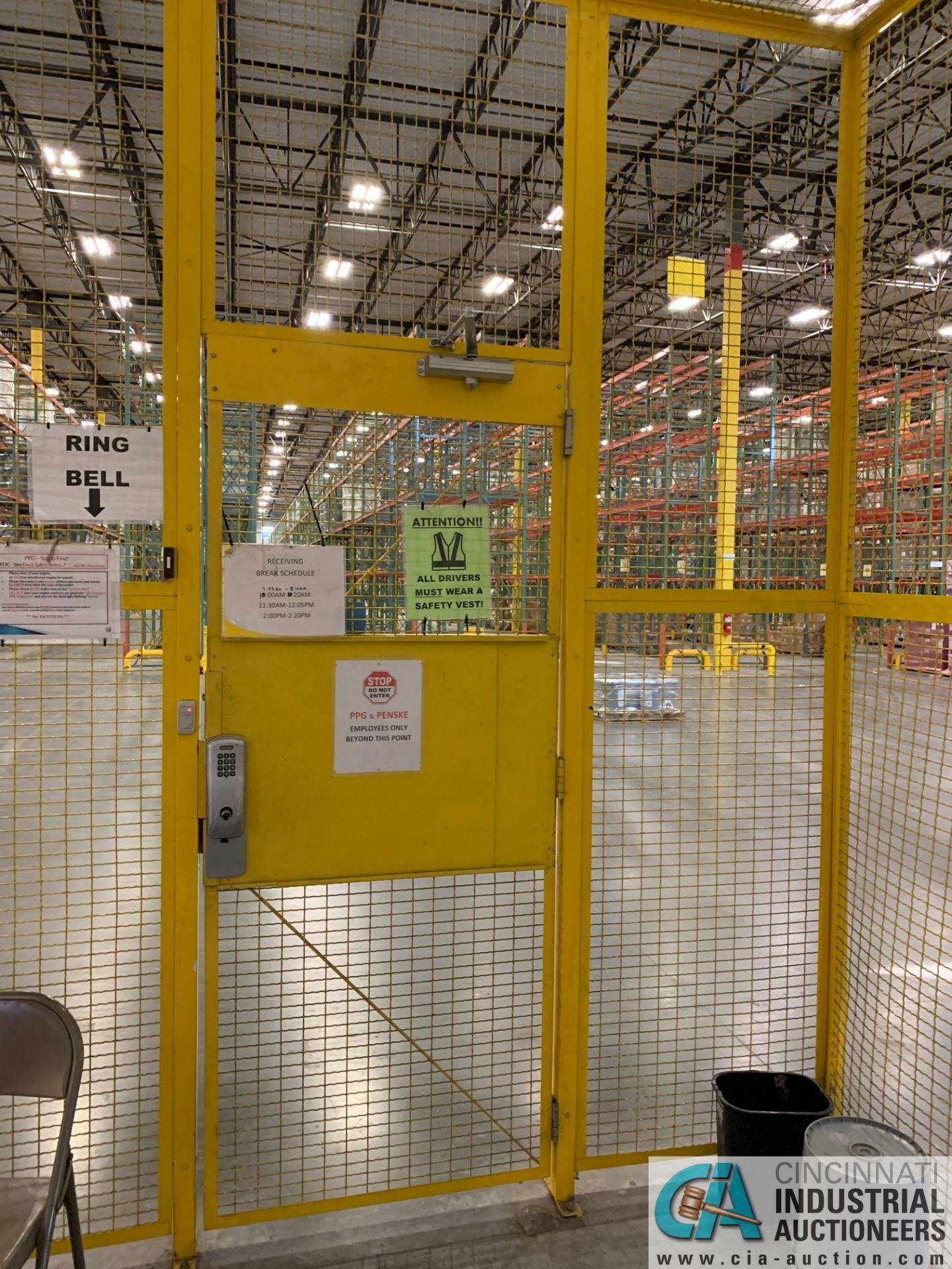 SAFETY CAGE - BACK DRIVERS (5400 OAKLEY INDUSTRIAL BLVD., FAIRBURN, GA 30213) - Image 7 of 7