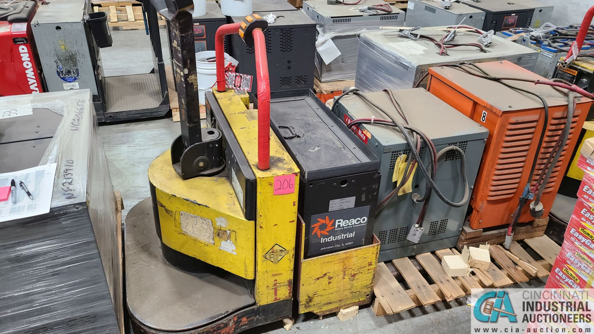PRIME MODEL HMX65 ELECTRIC PALLET TRUCK; S/N HMX6532302002, W/ BATTERY, 4820 HOURS (2570 ORCHARD - Image 2 of 4