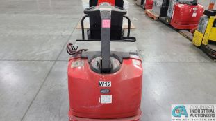 RAYMOND MODEL 8510 ELECTRIC PALLET TRUCK; S/N 851-15-11748, W/ BATTERY, HOURS N/A (NEW 2015) (2570