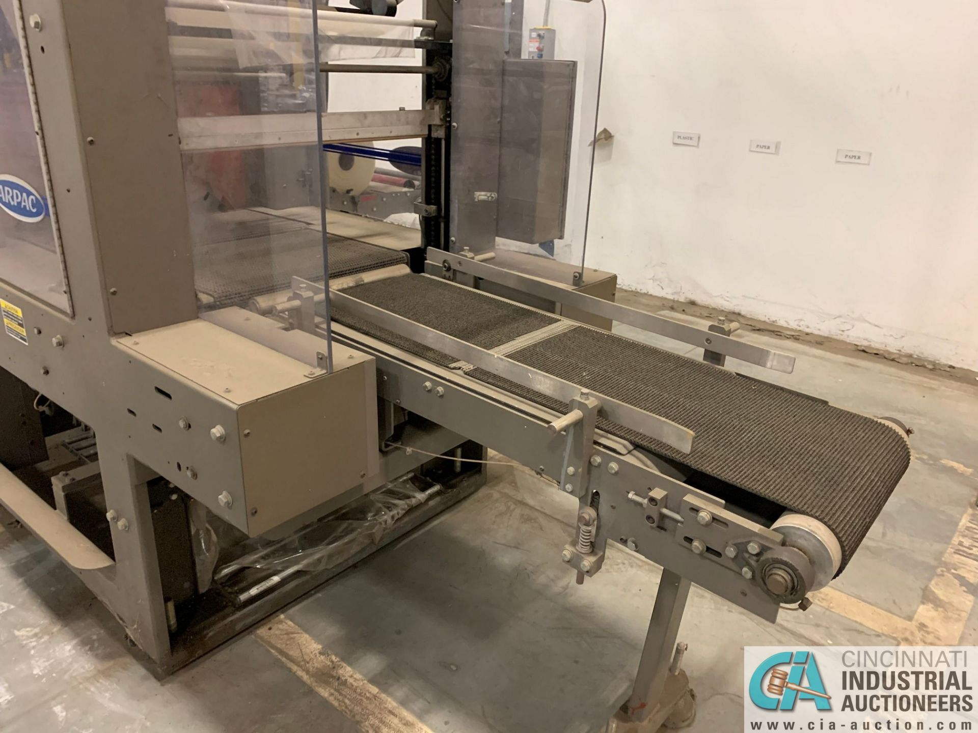 "ARPAC MODEL 25TW-28 SHRINK WRAPPER / HEAT TUNNEL; S/N 11489, HEIGHT RANGE: 4"" - 12"", LENGTH (FLOW - Image 13 of 19"