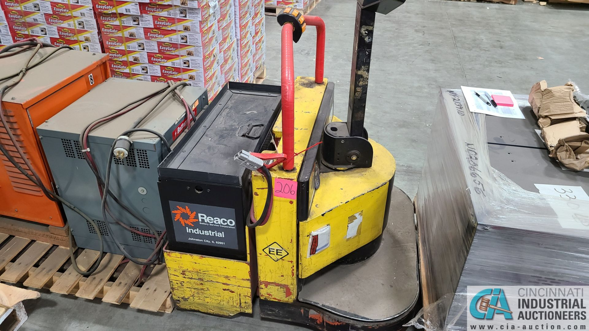 PRIME MODEL HMX65 ELECTRIC PALLET TRUCK; S/N HMX6532302002, W/ BATTERY, 4820 HOURS (2570 ORCHARD - Image 3 of 4