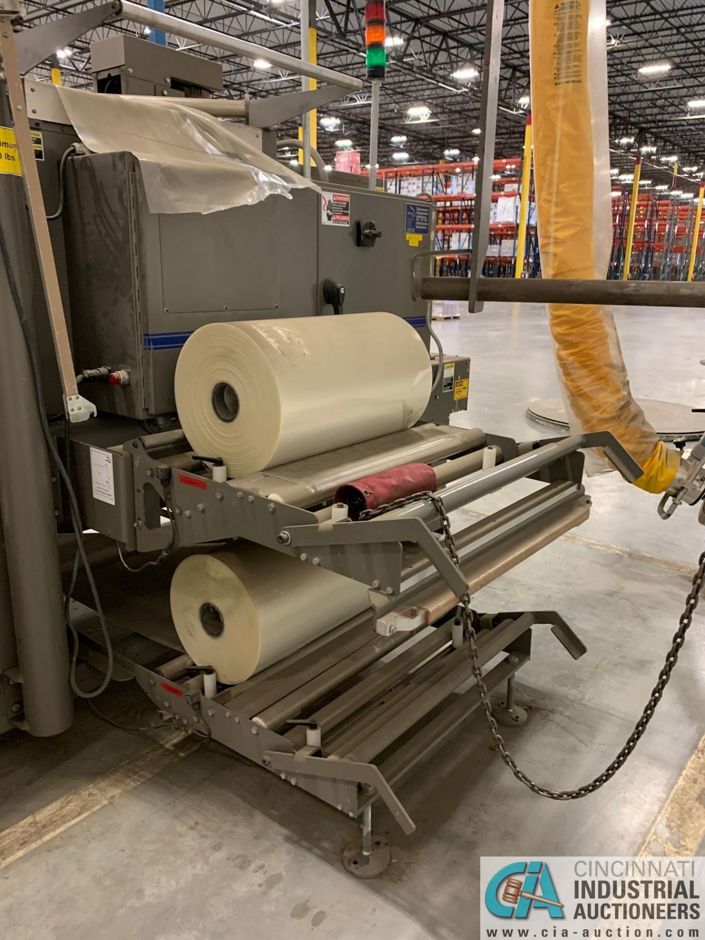 "ARPAC MODEL 25TW-28 SHRINK WRAPPER / HEAT TUNNEL; S/N 11489, HEIGHT RANGE: 4"" - 12"", LENGTH (FLOW - Image 15 of 19"