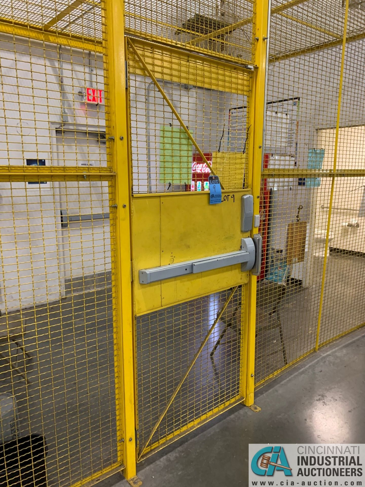 SAFETY CAGE - BACK DRIVERS (5400 OAKLEY INDUSTRIAL BLVD., FAIRBURN, GA 30213) - Image 3 of 7