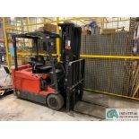 4,000 LB. TOYOTA MODEL 7FBEU20 SIT DOWN ELECTRIC LIFT TRUCK; S/N 23608 (OUT OF SERVICE) (5400 OAKLEY