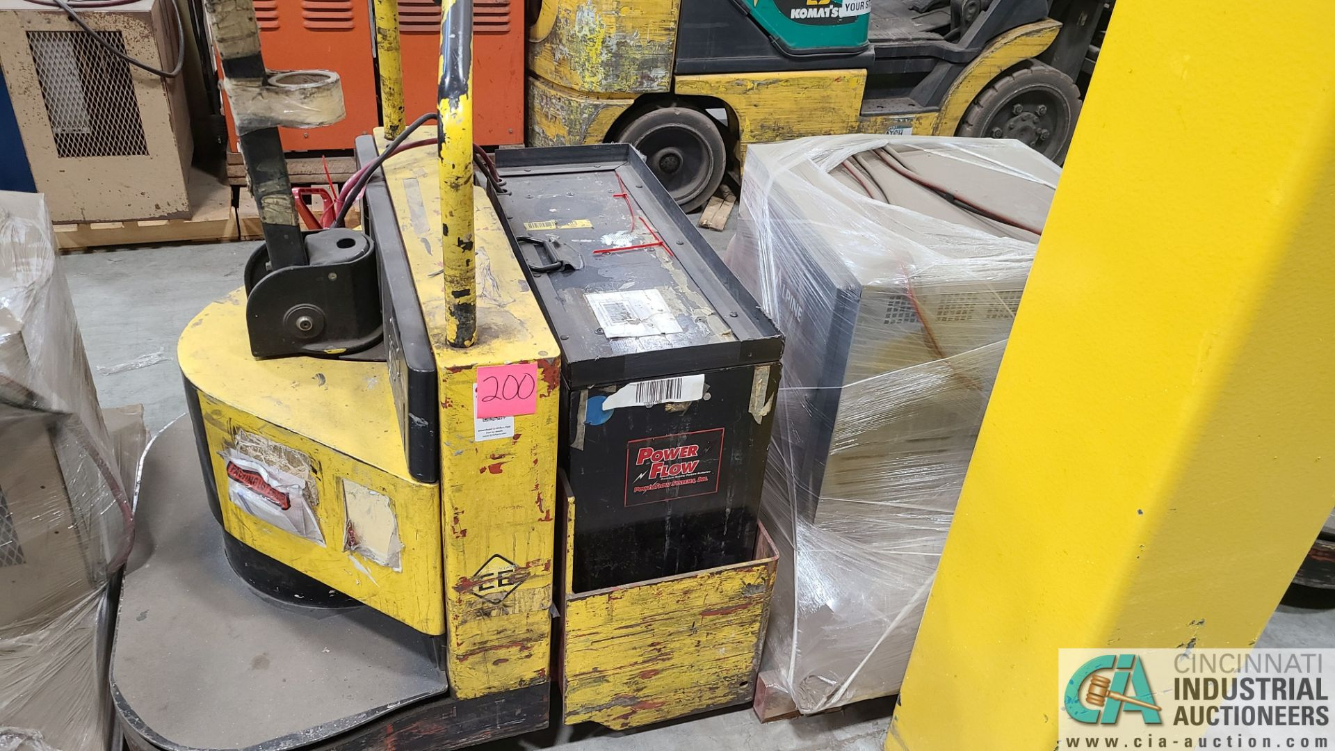 PRIME MODEL HMX65 ELECTRIC PALLET TRUCK; S/N HMX6528191001, W/ BATTERY, 7929 HOURS (2570 ORCHARD - Image 2 of 4
