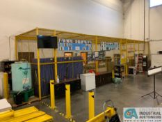 SAFETY CAGE - FRONT DRIVERS (5400 OAKLEY INDUSTRIAL BLVD., FAIRBURN, GA 30213)