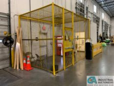 SAFETY CAGE - BACK DRIVERS (5400 OAKLEY INDUSTRIAL BLVD., FAIRBURN, GA 30213)