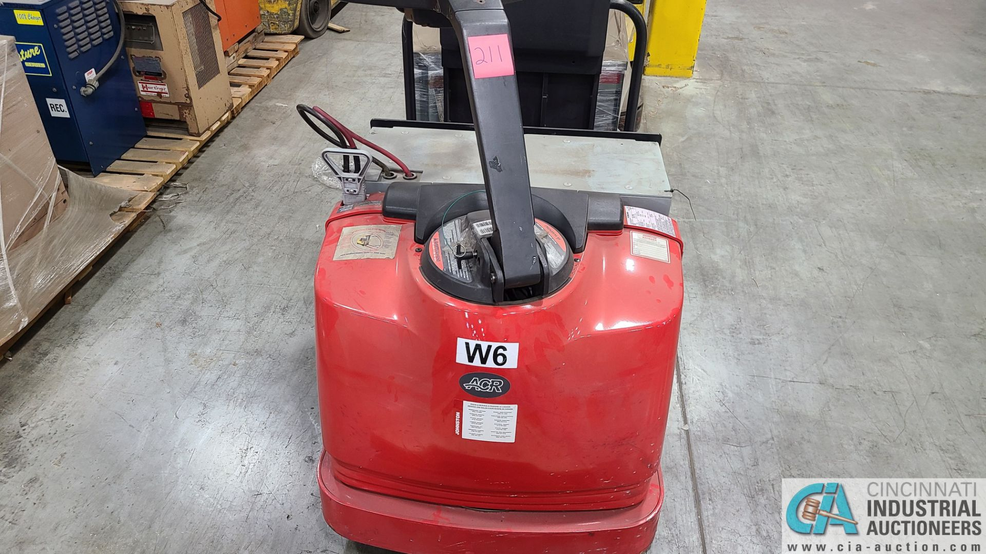 RAYMOND MODEL 8510 ELECTRIC PALLET TRUCK; S/N 851-15-11742, W/ BATTERY, HOURS N/A (NEW 2015) (2570 - Image 2 of 4