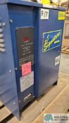 24-VOLT SIGNATURE MODEL ICR12-5N BATTERY CHARGER; S/N 7161 (2570 ORCHARD GATEWAY BLVD., AURORA, IL