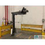 ORION M67/17IS SWING ARM STRETCH WRAPPING MACHINE; S/N 2006-0015989, 115-VOLTS, 15-AMPS, 60-HZ, 1-
