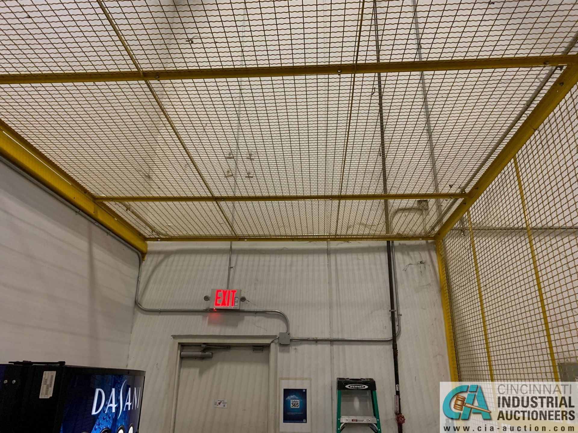 SAFETY CAGE - FRONT DRIVERS (5400 OAKLEY INDUSTRIAL BLVD., FAIRBURN, GA 30213) - Image 4 of 6