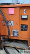 24-VOLT GNB MODEL GTC12-450T1 BATTERY CHARGER; S/N 88B0189 (2570 ORCHARD GATEWAY BLVD., AURORA, IL