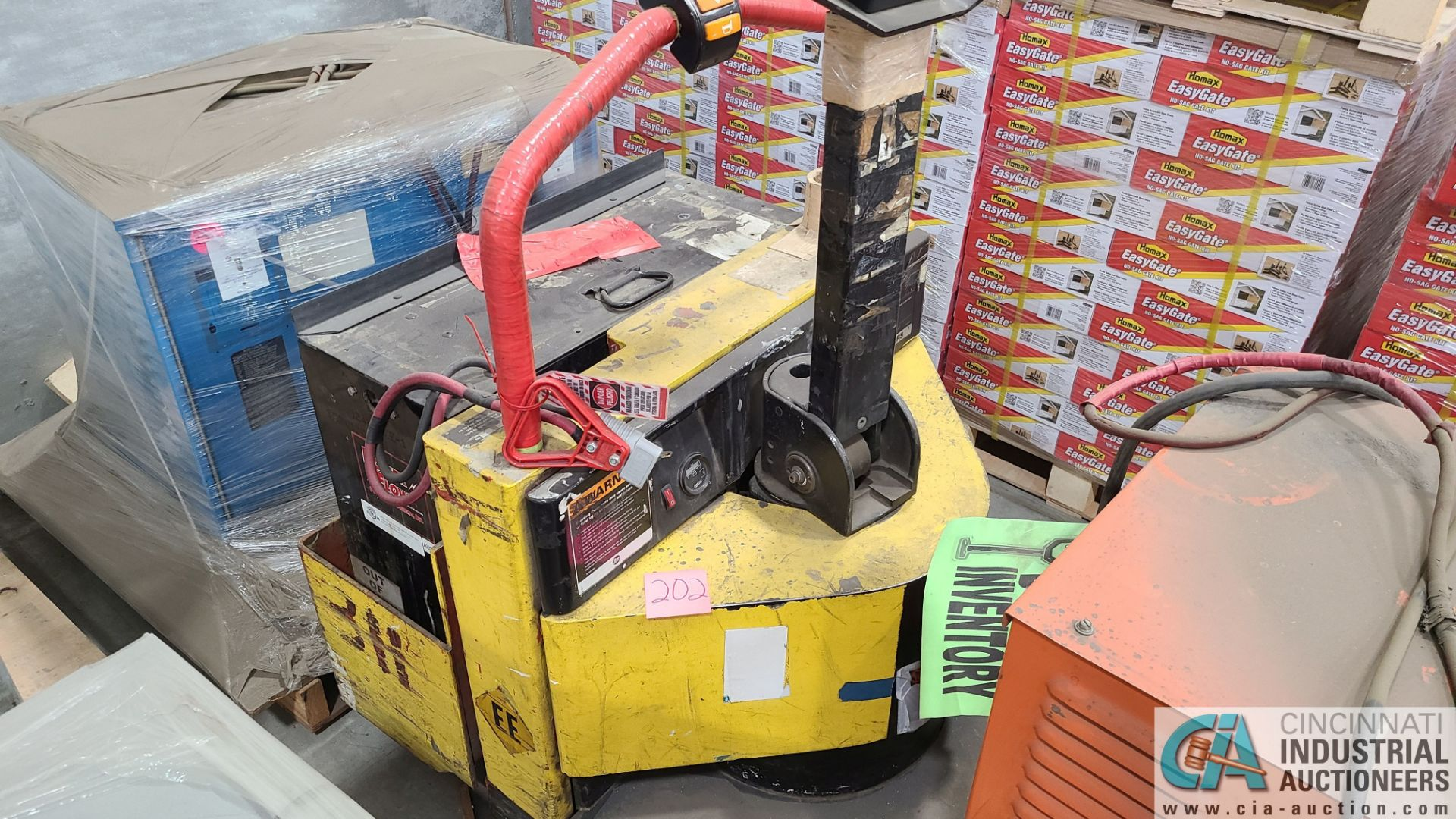 PRIME MODEL HMX65 ELECTRIC PALLET TRUCK; S/N HMX6531038002, W/ BATTERY, 642 HOURS (2570 ORCHARD - Image 3 of 4