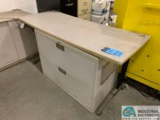 (LOT) OFFICE FURNITURE - DESKS, CABINETS (NO CONTENTS (5400 OAKLEY INDUSTRIAL BLVD., FAIRBURN, GA