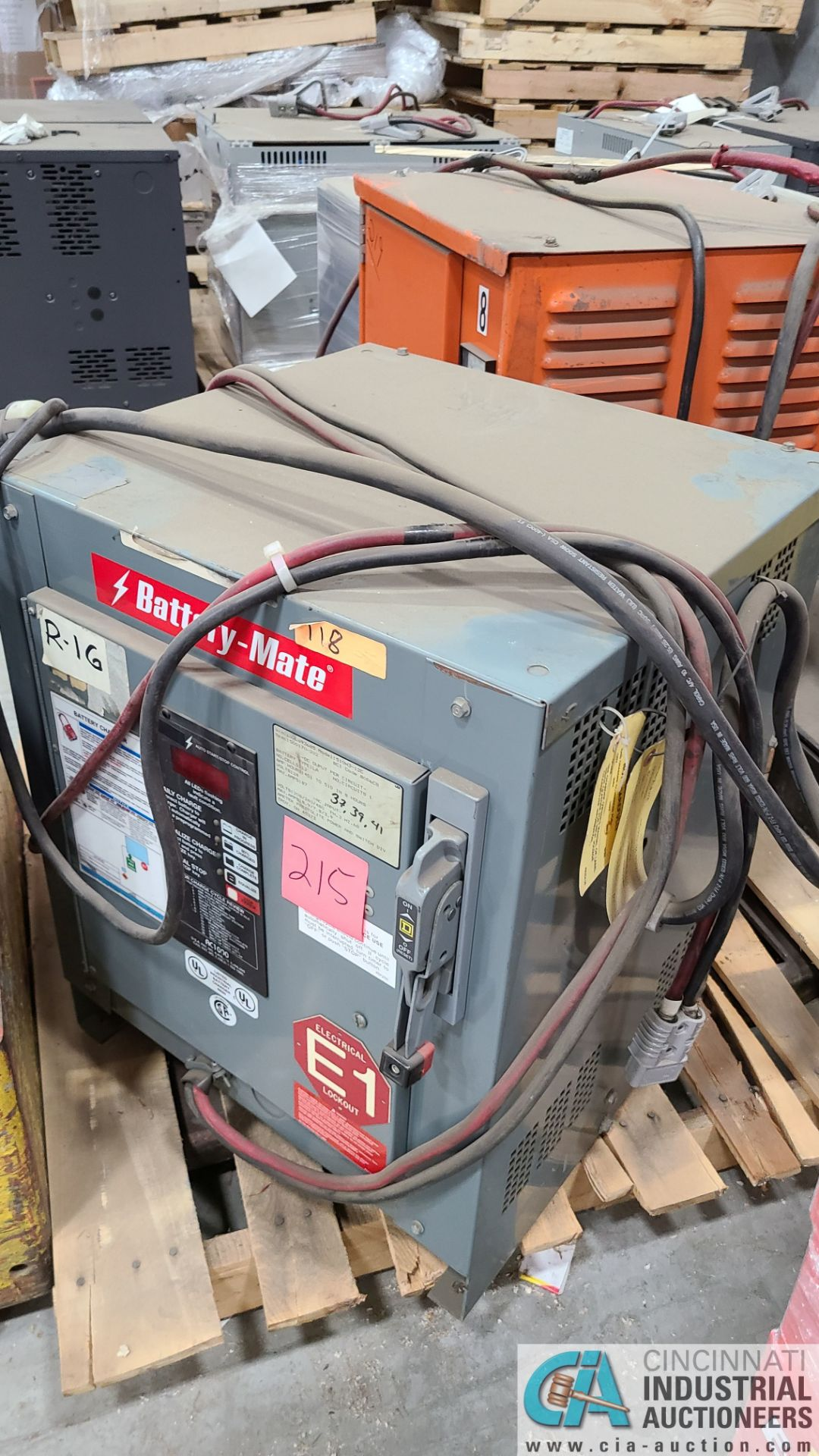 24-VOLT BATTERY MATE MODEL 51OH3-12C BATTERY CHARGER; S/N 12CS93685 (2570 ORCHARD GATEWAY BLVD., - Image 2 of 3
