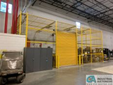 MAINTENANCE CAGE - NO ROLL UP GARAGE DOOR (5400 OAKLEY INDUSTRIAL BLVD., FAIRBURN, GA 30213)