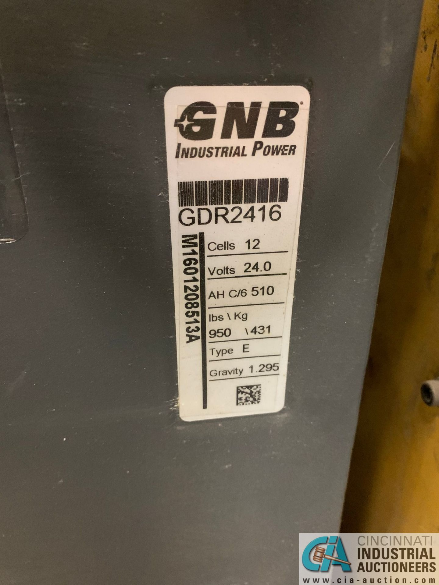 "8,000 LB. YALE MODEL MPE080LFN24T2742 ELECTRIC PALLET TRUCK; S/N B890N01815E, 42"" FORKS, W/ 24- - Image 6 of 6"