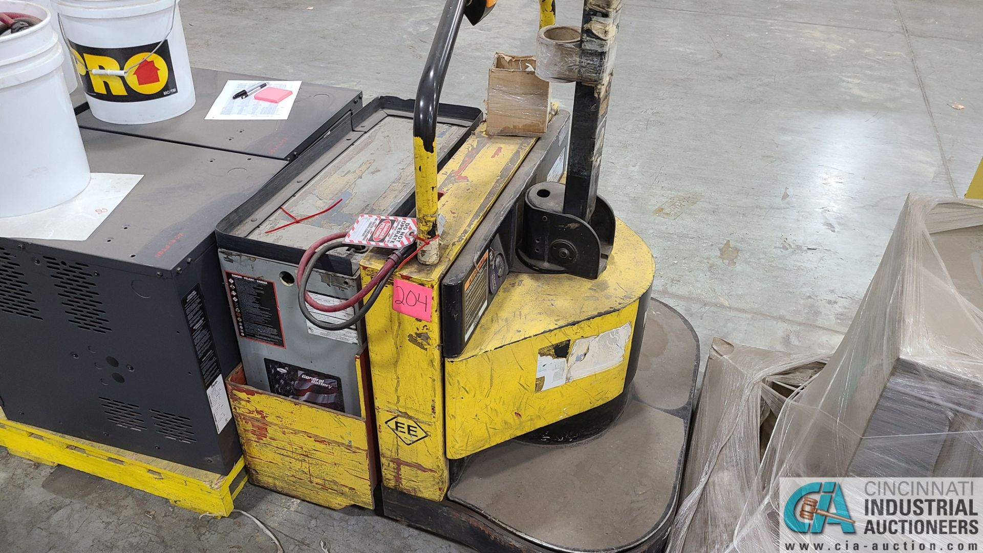 PRIME MODEL HMX65 ELECTRIC PALLET TRUCK; S/N HMX6535056001, W/ BATTERY, 1061 HOURS (2570 ORCHARD - Image 3 of 4