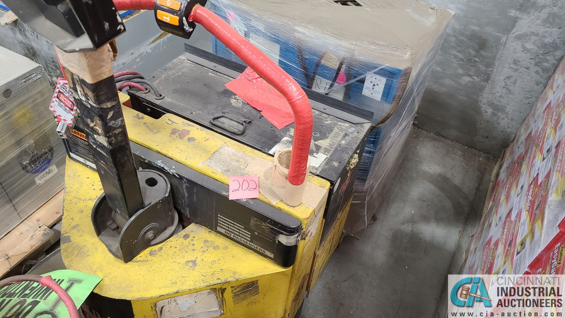 PRIME MODEL HMX65 ELECTRIC PALLET TRUCK; S/N HMX6531038002, W/ BATTERY, 642 HOURS (2570 ORCHARD - Image 2 of 4