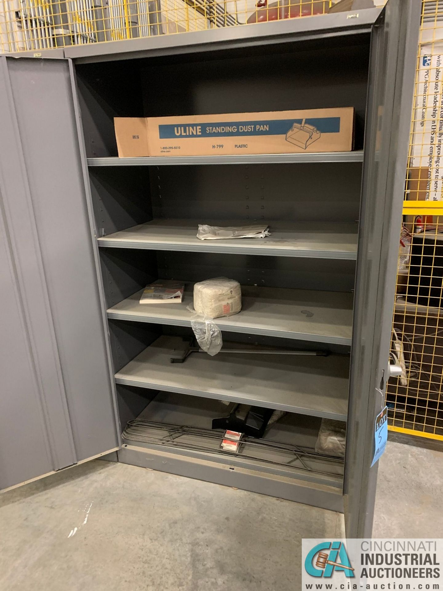 GRAY TWO-DOOR STORAGE CABINETS (5400 OAKLEY INDUSTRIAL BLVD., FAIRBURN, GA 30213) - Image 4 of 7