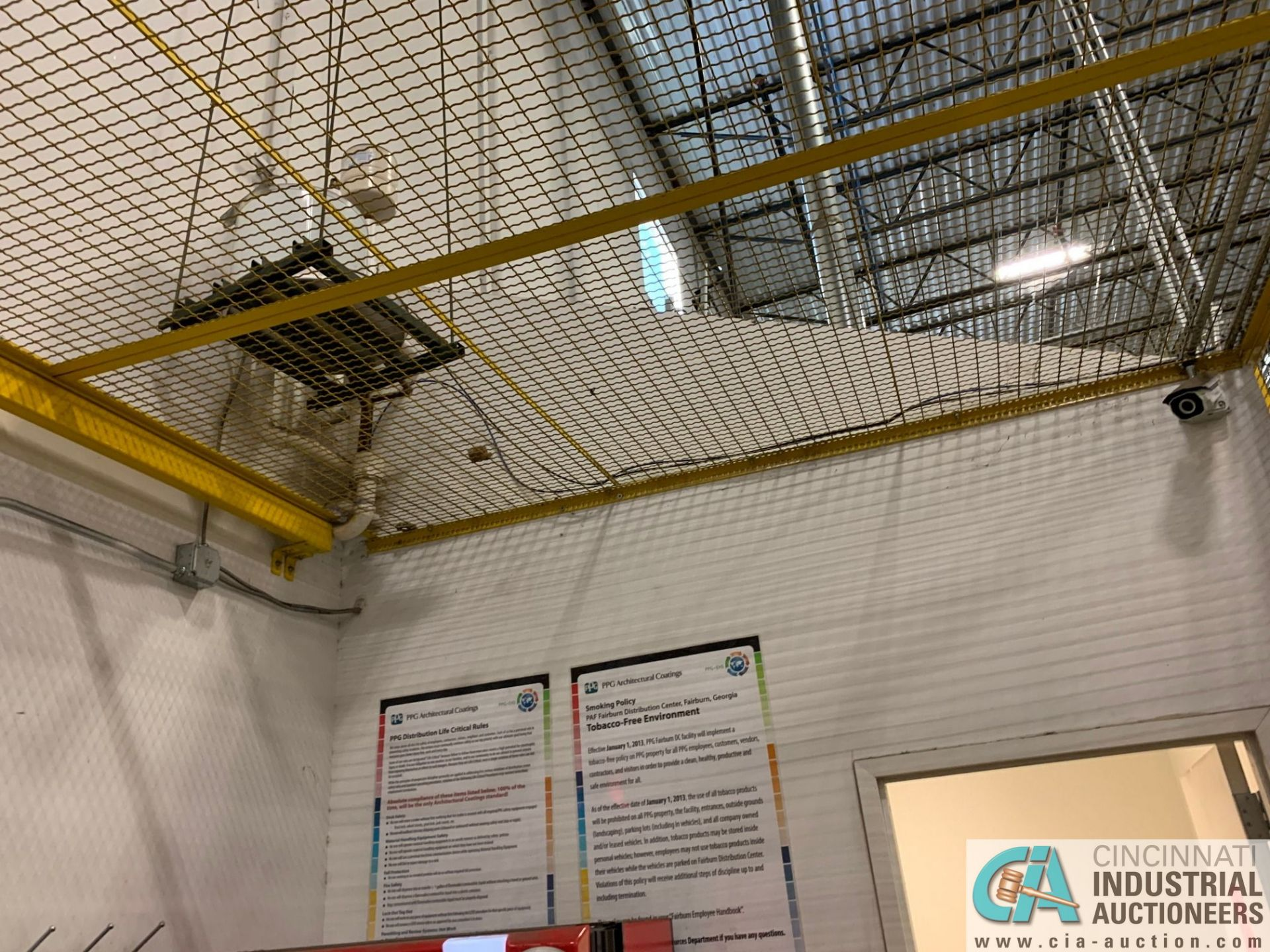 SAFETY CAGE - BACK DRIVERS (5400 OAKLEY INDUSTRIAL BLVD., FAIRBURN, GA 30213) - Image 6 of 7