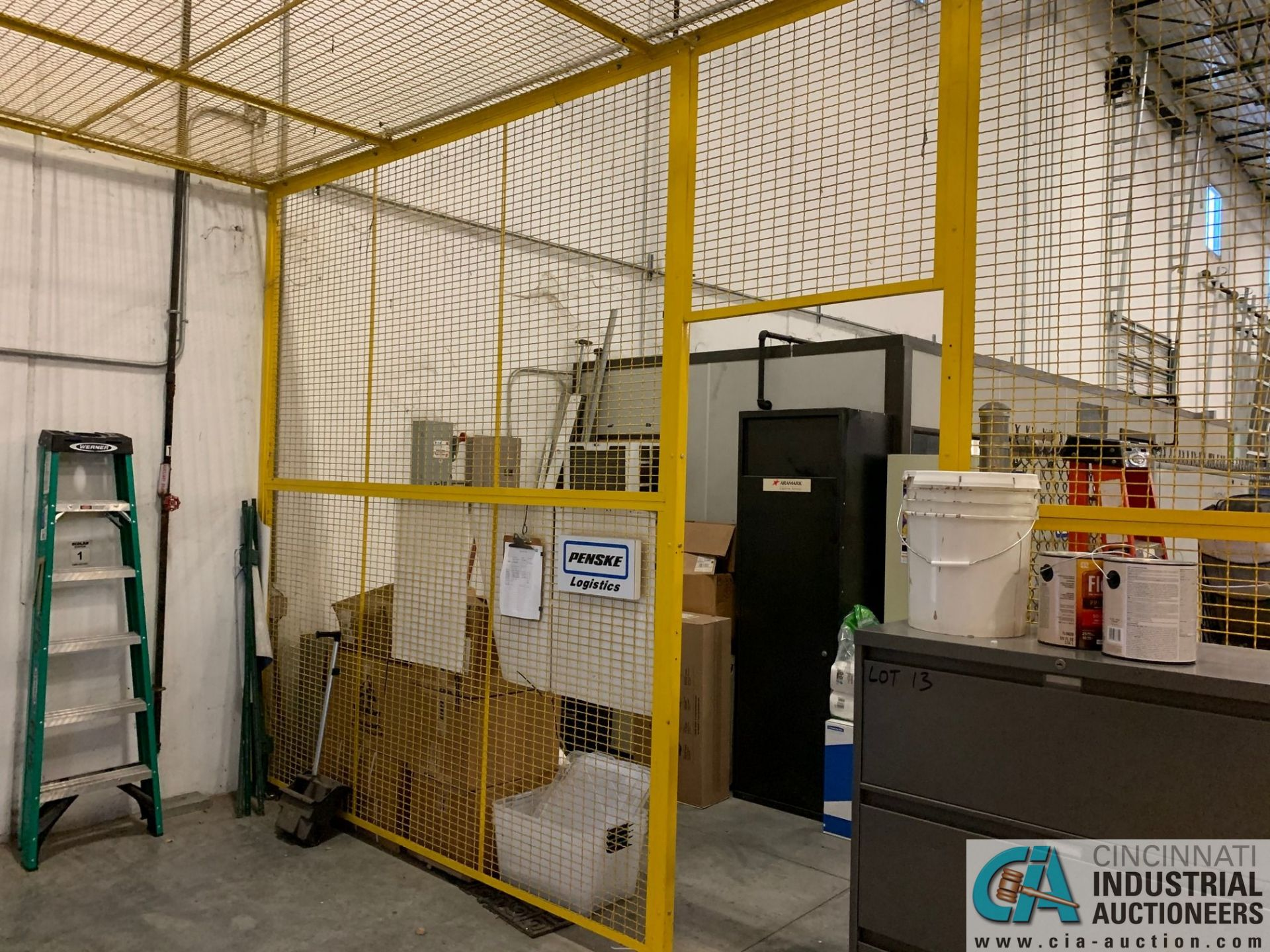 SAFETY CAGE - FRONT DRIVERS (5400 OAKLEY INDUSTRIAL BLVD., FAIRBURN, GA 30213) - Image 5 of 6