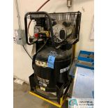 2-HP CENTRAL PNEUMATIC ITEM 61489 AIR COMPRESSOR; S/N 02957, 29-GALLON TANK, 150 MAX PSI (2015) (