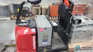 RAYMOND MODEL 8510 ELECTRIC PALLET TRUCK; S/N 851-15-11740, W/ BATTERY, HOURS N/A (NEW 2015) (2570