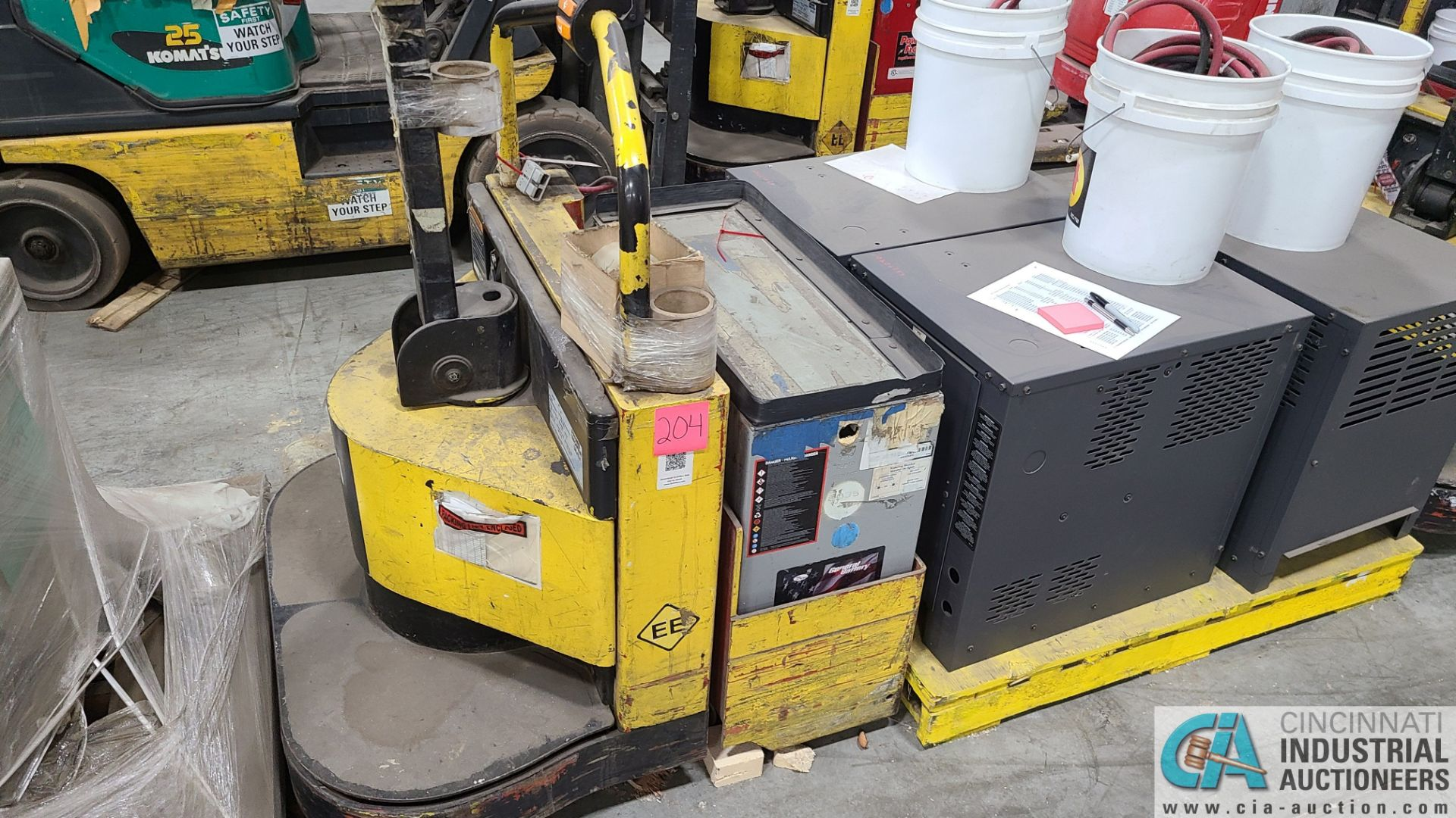 PRIME MODEL HMX65 ELECTRIC PALLET TRUCK; S/N HMX6535056001, W/ BATTERY, 1061 HOURS (2570 ORCHARD - Image 2 of 4