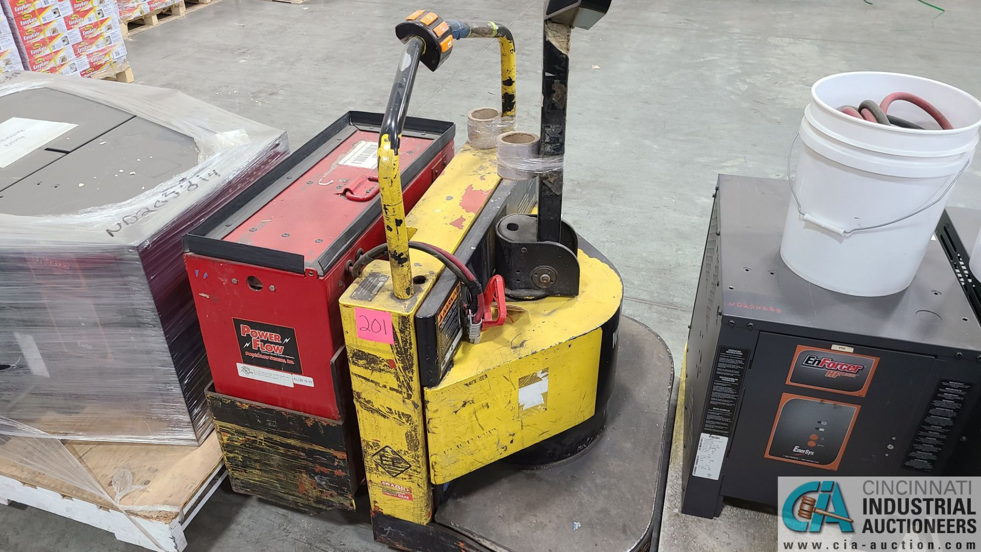 PRIME MODEL HMX65 ELECTRIC PALLET TRUCK; S/N HMX6531038001, W/ BATTERY, 1,776 HOURS (2570 ORCHARD - Image 3 of 4