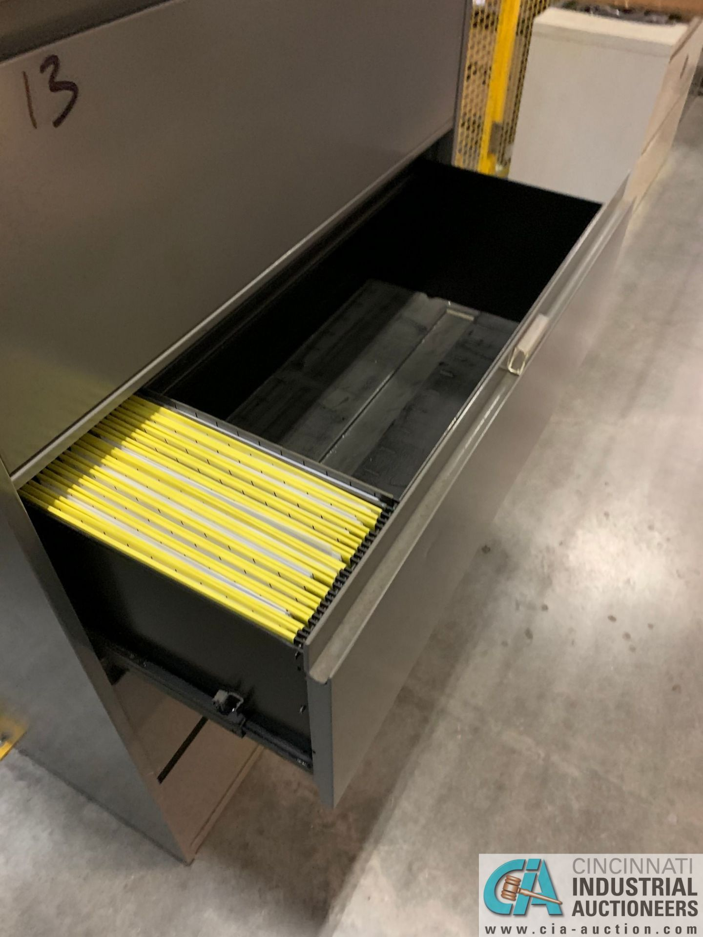 FOUR-DRAWER STEELCASE LATERAL FILE CABINETS (NO CONTENTS) (5400 OAKLEY INDUSTRIAL BLVD., FAIRBURN, - Image 7 of 9
