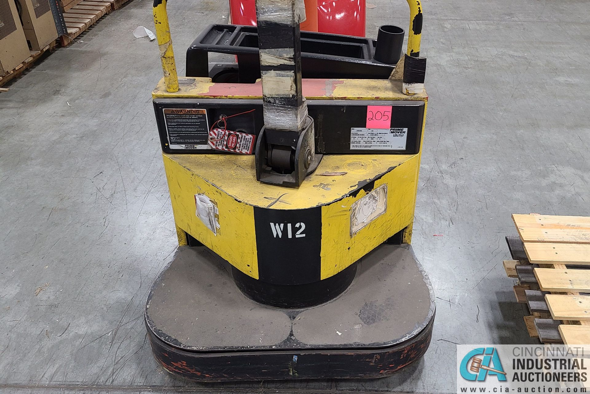 PRIME MODEL HMX65 ELECTRIC PALLET TRUCK; S/N HMX6536194001, W/ BATTERY, 4917 HOURS (2570 ORCHARD - Image 3 of 4