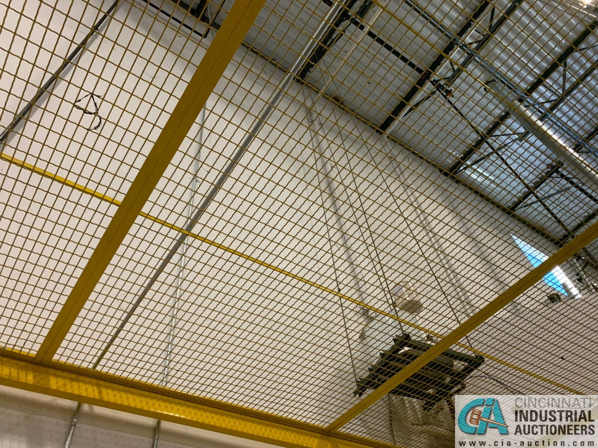 SAFETY CAGE - BACK DRIVERS (5400 OAKLEY INDUSTRIAL BLVD., FAIRBURN, GA 30213) - Image 5 of 7