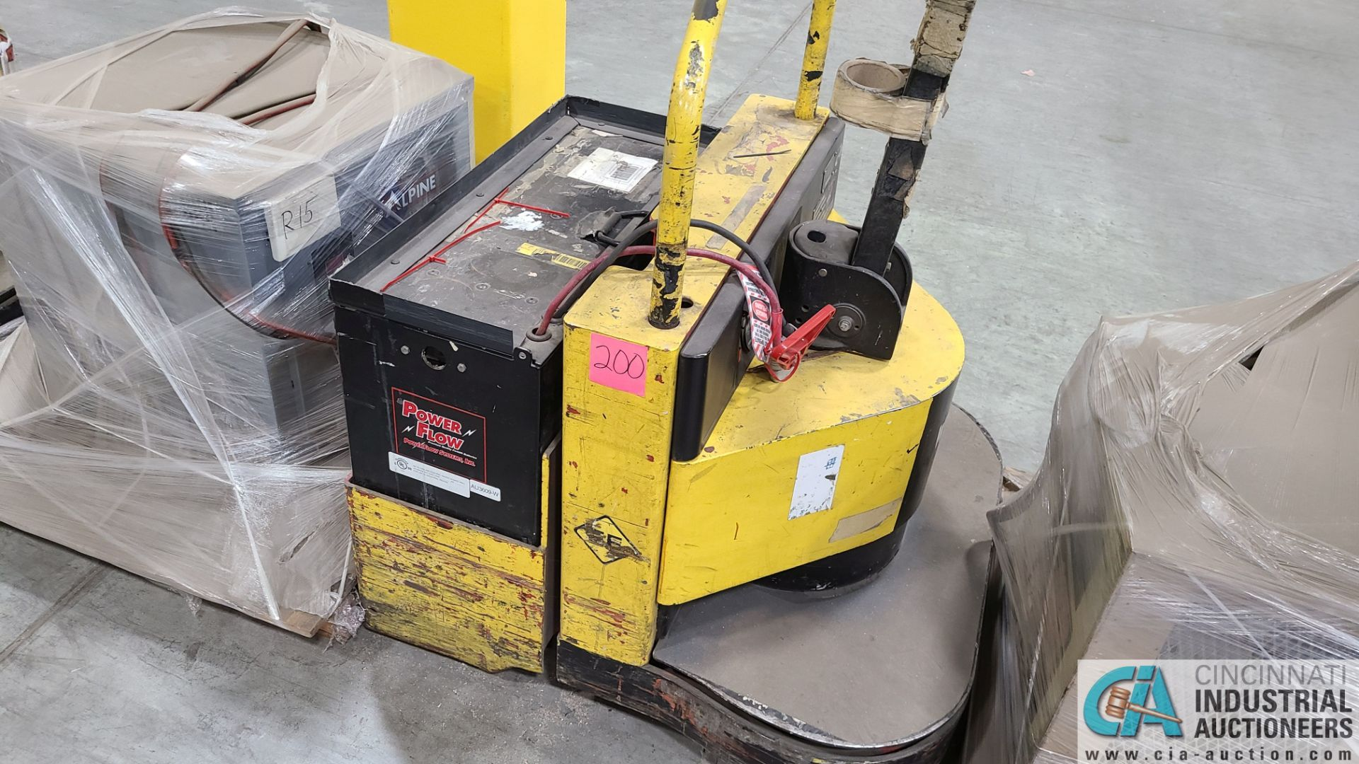 PRIME MODEL HMX65 ELECTRIC PALLET TRUCK; S/N HMX6528191001, W/ BATTERY, 7929 HOURS (2570 ORCHARD - Image 3 of 4