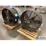 "42"" TPI PB 42-D PORTABLE DRUM FANS (5400 OAKLEY INDUSTRIAL BLVD., FAIRBURN, GA 30213)"