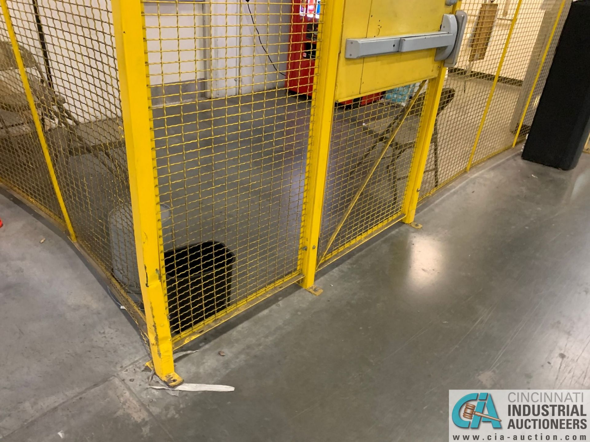 SAFETY CAGE - BACK DRIVERS (5400 OAKLEY INDUSTRIAL BLVD., FAIRBURN, GA 30213) - Image 2 of 7