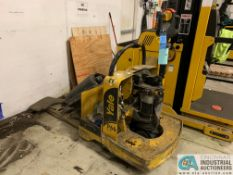 6,000 LB. YALE MODEL MPE060LVGN24T2742 ELECTRIC PALLET TRUCK; S/N A292N01562J (OUT OF SERVICE) (5400