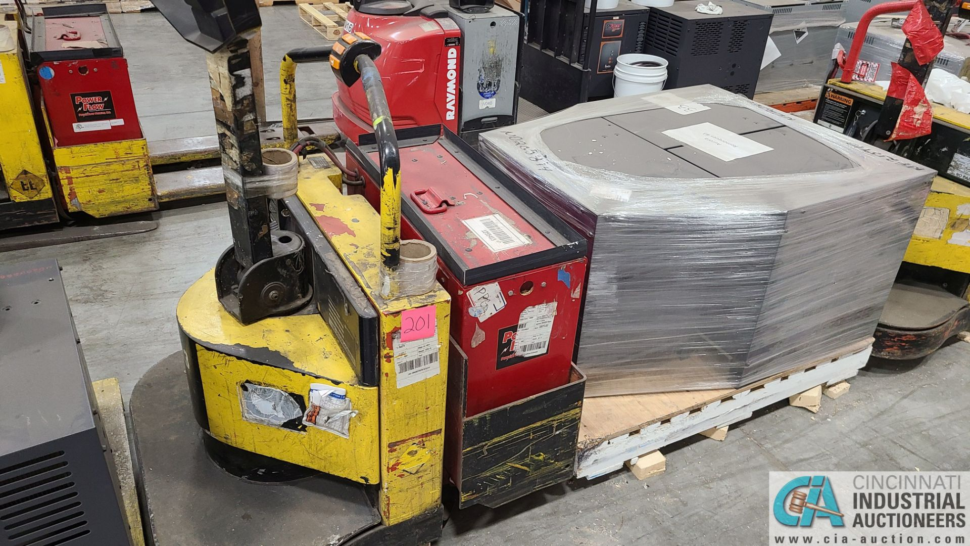 PRIME MODEL HMX65 ELECTRIC PALLET TRUCK; S/N HMX6531038001, W/ BATTERY, 1,776 HOURS (2570 ORCHARD - Image 2 of 4
