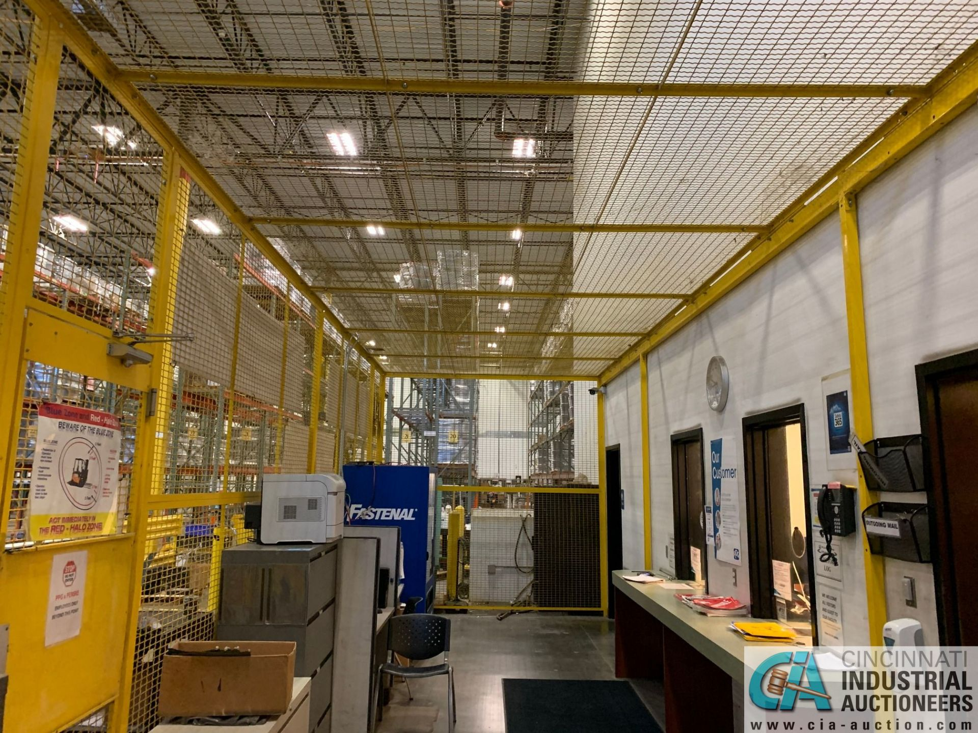 SAFETY CAGE - FRONT DRIVERS (5400 OAKLEY INDUSTRIAL BLVD., FAIRBURN, GA 30213) - Image 6 of 6