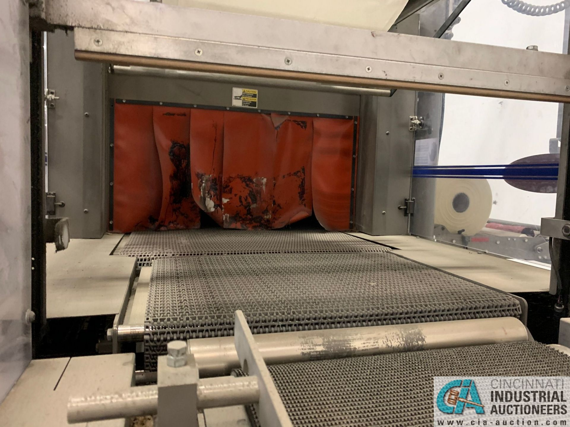 "ARPAC MODEL 25TW-28 SHRINK WRAPPER / HEAT TUNNEL; S/N 11489, HEIGHT RANGE: 4"" - 12"", LENGTH (FLOW - Image 12 of 19"