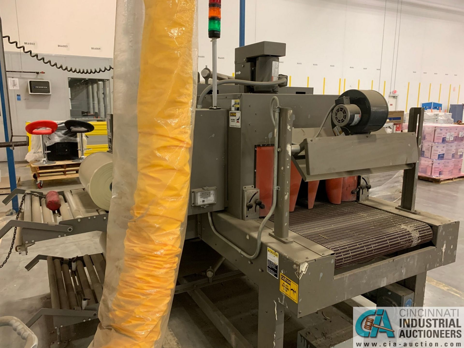 "ARPAC MODEL 25TW-28 SHRINK WRAPPER / HEAT TUNNEL; S/N 11489, HEIGHT RANGE: 4"" - 12"", LENGTH (FLOW - Image 6 of 19"