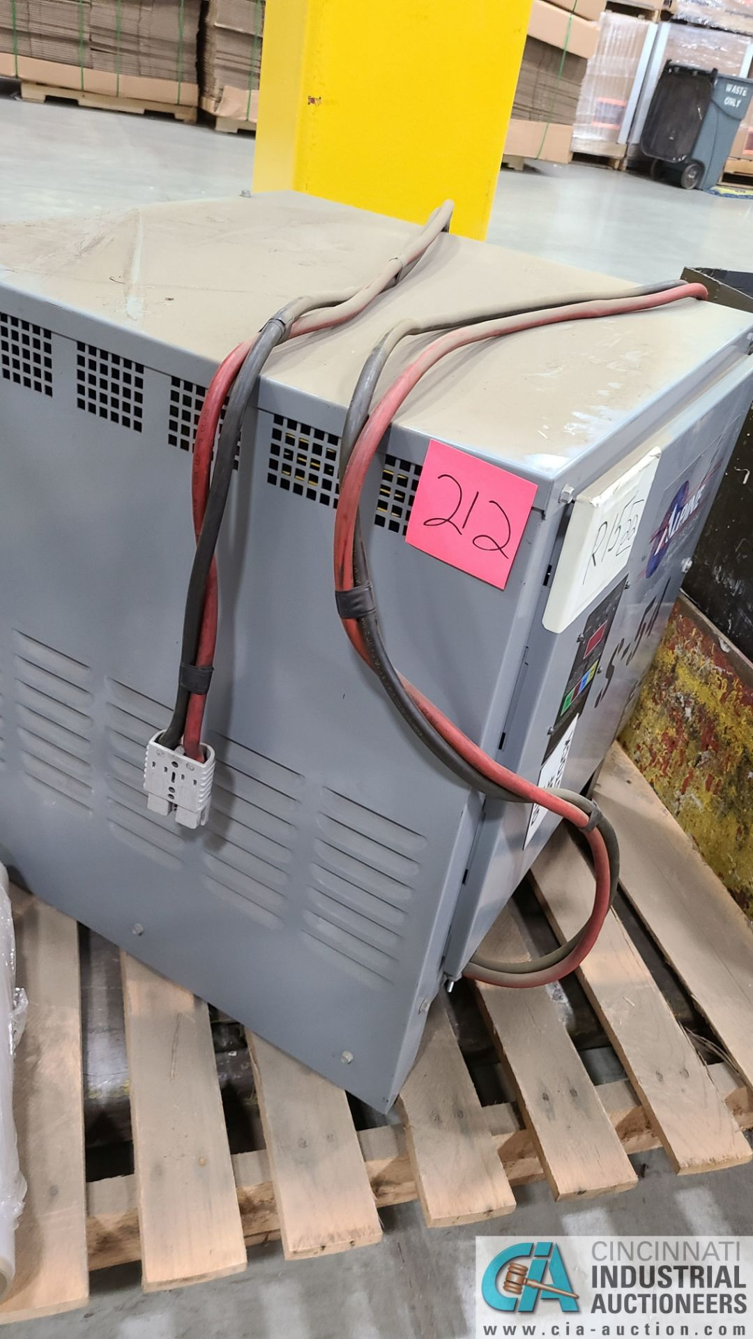 24-VOLT ALPINE MODEL XPT12-600B PF20 BATTERY CHARGER; S/N AT295700011 (2570 ORCHARD GATEWAY BLVD., - Image 2 of 3