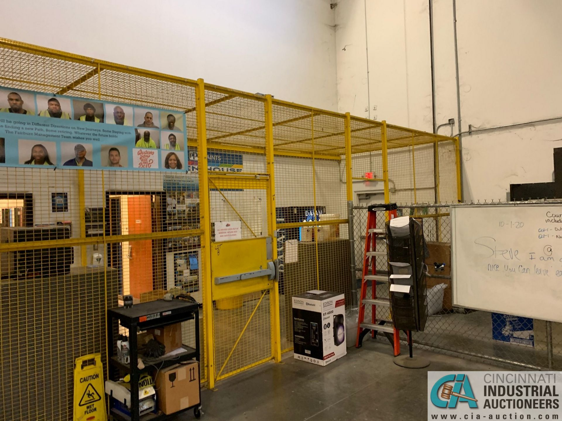 SAFETY CAGE - FRONT DRIVERS (5400 OAKLEY INDUSTRIAL BLVD., FAIRBURN, GA 30213) - Image 3 of 6